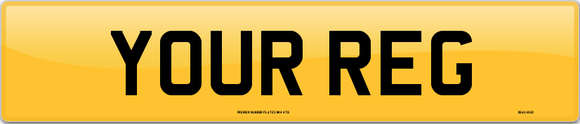 Custom number plates online