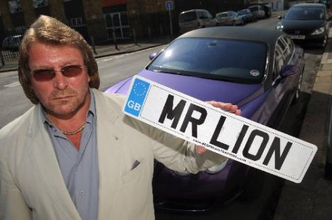No More Illegal Mr L1on Number Plate For Brighton