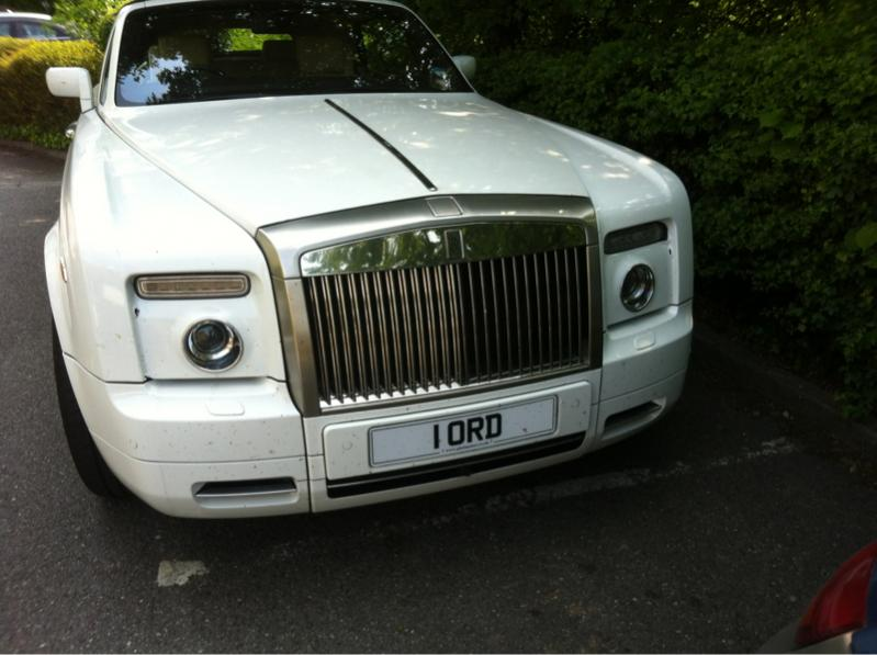 Lord Number Plate